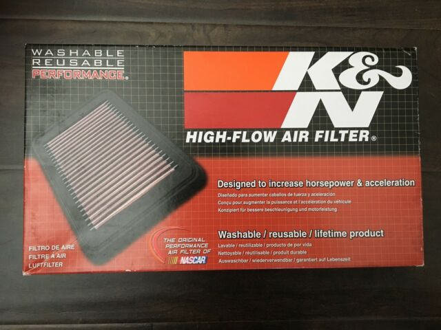 K&N #33-2187 High-Flow Reusable Air Filter for some Ford, Mazda & Mercury Models