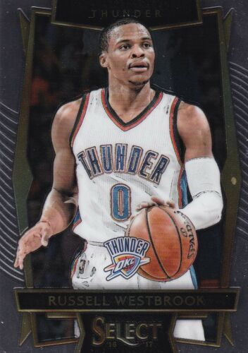 2016-17 Panini Select baloncesto walker #58 Russell Westbrook