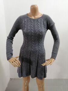 Vestitino-HOLLISTER-Donna-Taglia-Size-S-Dress-Woman-Pull-Femme-Maglia-Nylon-7312