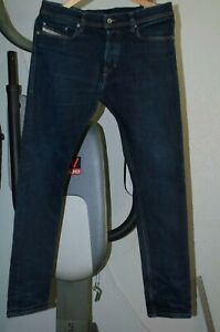Mens-Diesel-Tepphar-Wash-0604B-Stretch-slim-skinny-carrot-jean