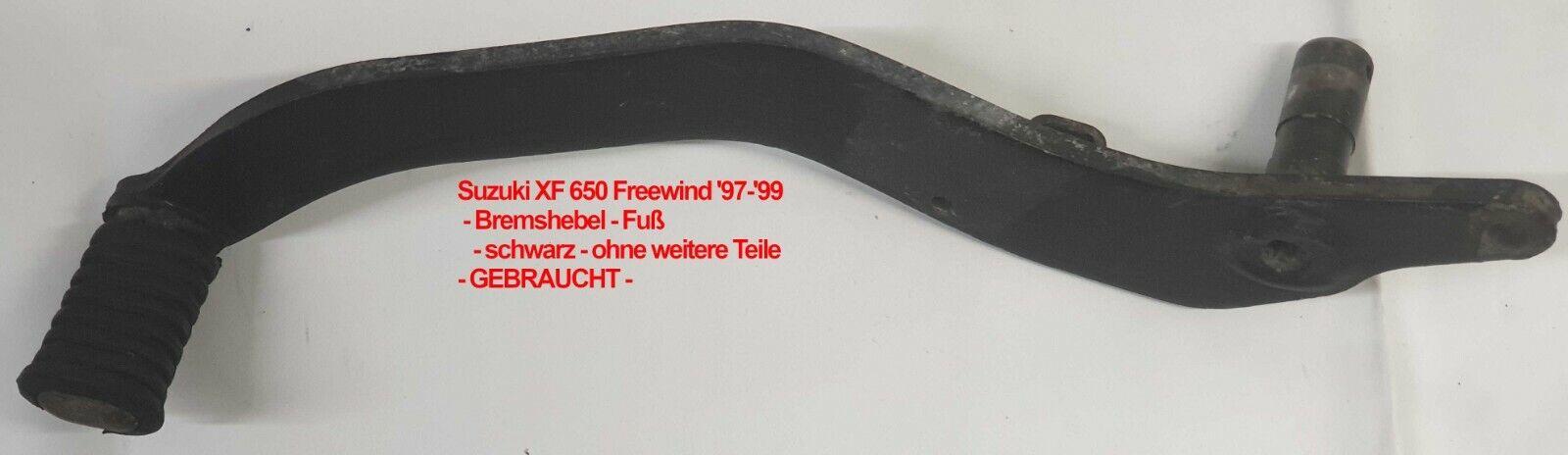 Kupplungshebel schwarz für Suzuki XF 650 Freewind WVAC 1997-2002