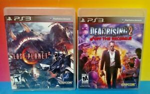 Lost-Planet-2-Dead-Rising-2-Off-Record-Game-Lot-PS3-Sony-Playstation-3-Tested