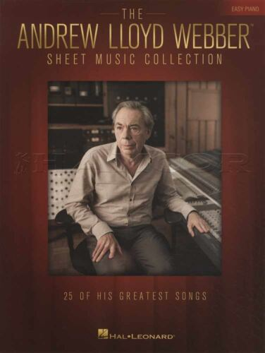 The Andrew Lloyd Webber Sheet Music Collection Easy Piano Book 25 Greatest Songs