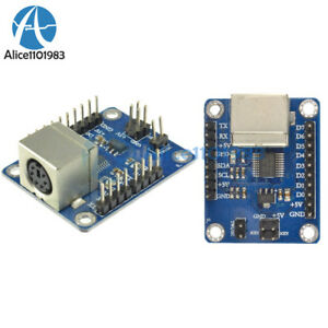 2PCS-PS2-Keyboard-Driver-Module-Serial-Port-Transmission-Module-for-arduino