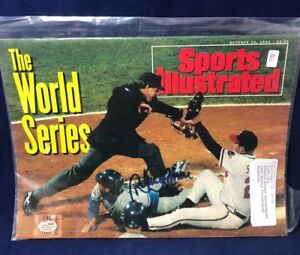 October 26, 1992 John Smoltz Atlanta Braves Roberto Alomar Sports Illustrated