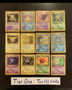 Pokemon-Mystery-Lot-First-Editions-4-5Holo-Rares-NP-READ-7-9-Rare-Cards