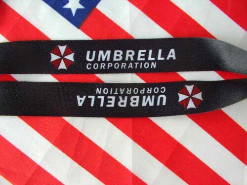 Resident Evil Umbrella Corporation ID Holder Lanyard Neck Strap Card Holder
