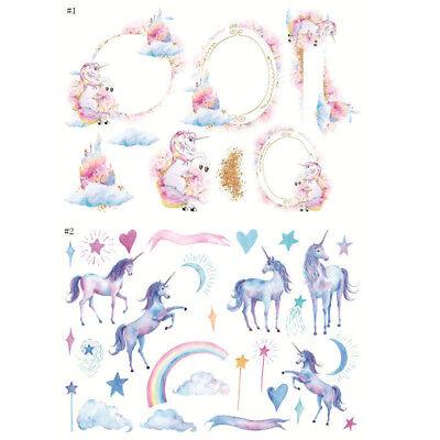 Cute Unicorn  Album Calendar Diary Book Sticker Scrapbook Decoration Planner