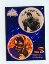 Night Train Lane-Carl Eller - Chi Cards-Vikings 1994 Ted Williams Card Co #7 POG