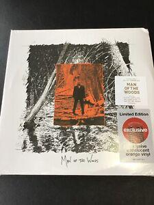 New-Justin-Timberlake-Man-Of-The-Woods-Orange-Vinyl-Target-Limited-Edition