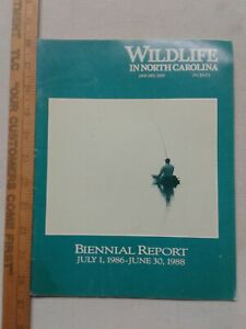 Wildlife-In-North-Carolina-January-1989-biennial-report-management-enforcement