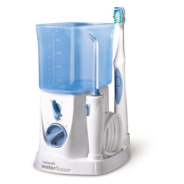 WATERPIK Munddusche Sonic Toothbrush 2-in-1 WP-700E1 Zahnbürste Zahnreiniger NEU