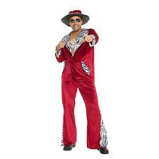 ADULT MENS THA FELLA 1970S PIMP DADDY FANCY DRESS HALLOWEEN COSTUME
