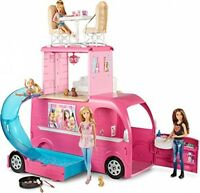 Barbie Rv Camper Doll Pop Up Dolls Popup Bears Vehicle Girls Camping Toy Trailer
