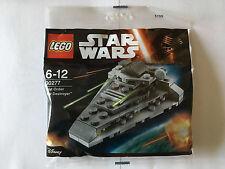 LEGO STAR WARS POLYBAG 30277 FIRST ORDER STAR DESTROYER NEUF SCELLE