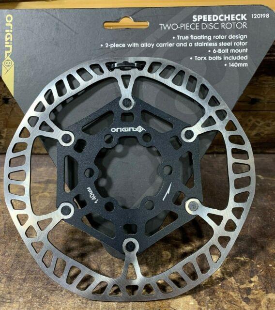 Origin8 Speedcheck Two-Piece Disc Rotor 140mm 6 Bolt Mount