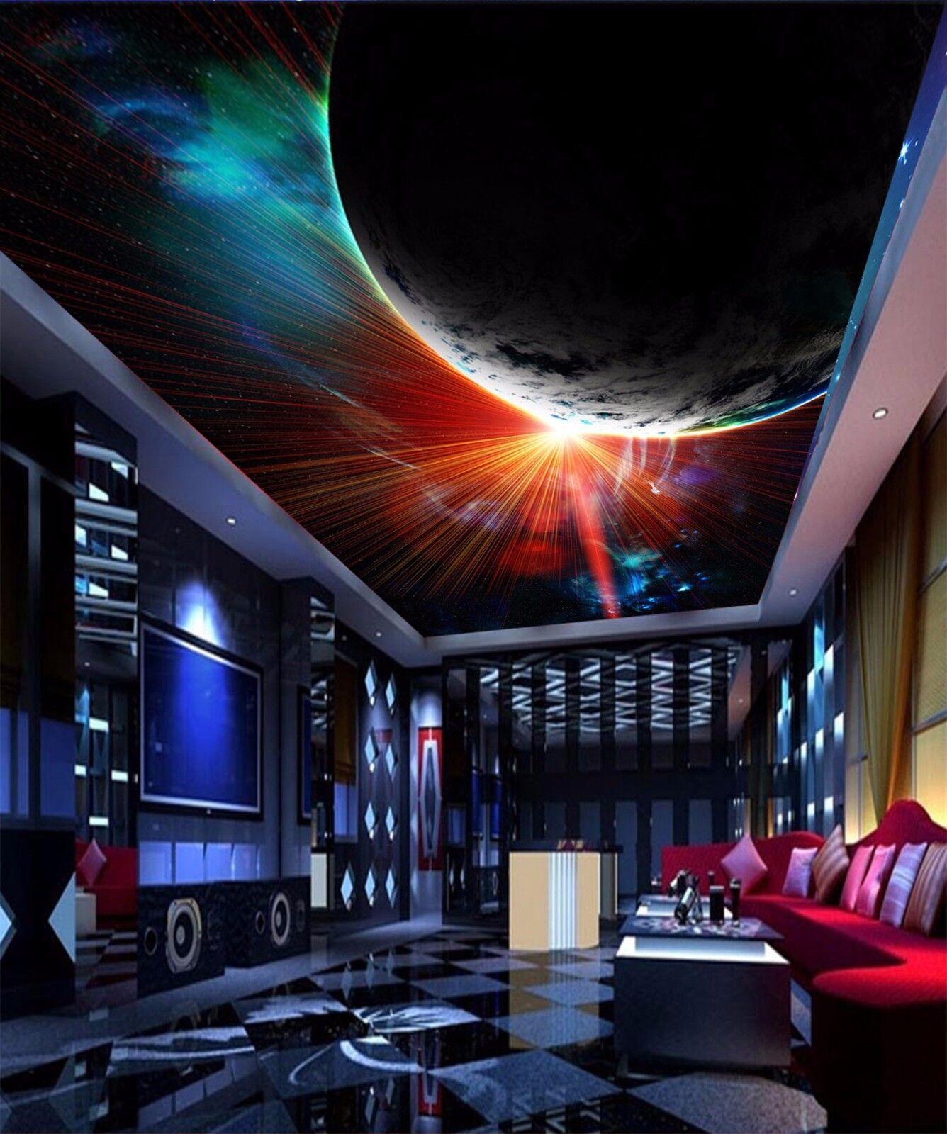3D Earth Light  7 Ceiling WallPaper Murals Wall Print Decal Deco AJ WALLPAPER GB