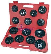 "16Pc 3/8"" Drive Cap Oil Filter Socket Wrench Set Cup Type Car Van Garage Tool"