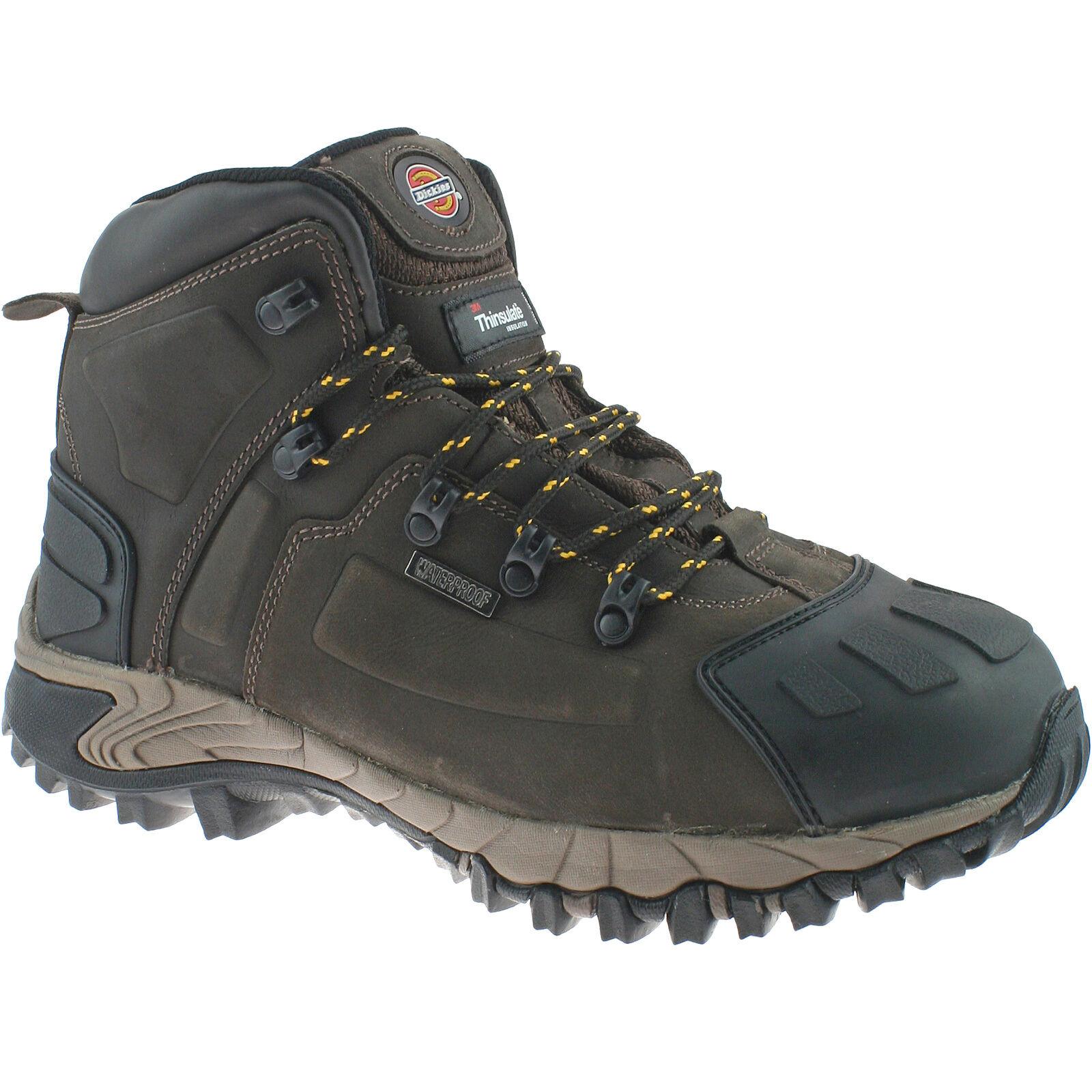 DICKIES MEDWAY Marrone Sicurezza Stivali Taglia Escursionista EU 43 FD23310 IMPERMEABILE Escursionista Taglia 1002f5