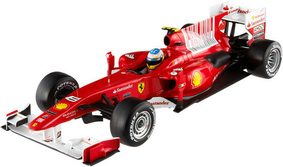 Hot Wheels Racing Ferrari F10 Fernando Alonso 2010 T6287 1 18