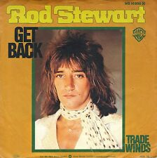 "7"" Rod Stewart – Get Back (Coverversion Beatles) // Germany 1976"