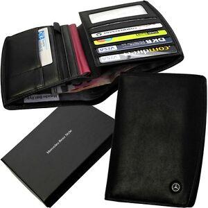 mercedes benz style brieftasche portemonnaie geldb rse wallet billfold neu ebay. Black Bedroom Furniture Sets. Home Design Ideas