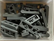 LEGO Parts NEW Pack of 5 Plate 1x2 with Handle on End 60478 DARK BLUISH GREY