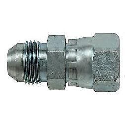 """6504-05-05 Hydraulic Fitting 5//16/"""" Male JIC X 5//16/"""" Female JIC Swivel"""