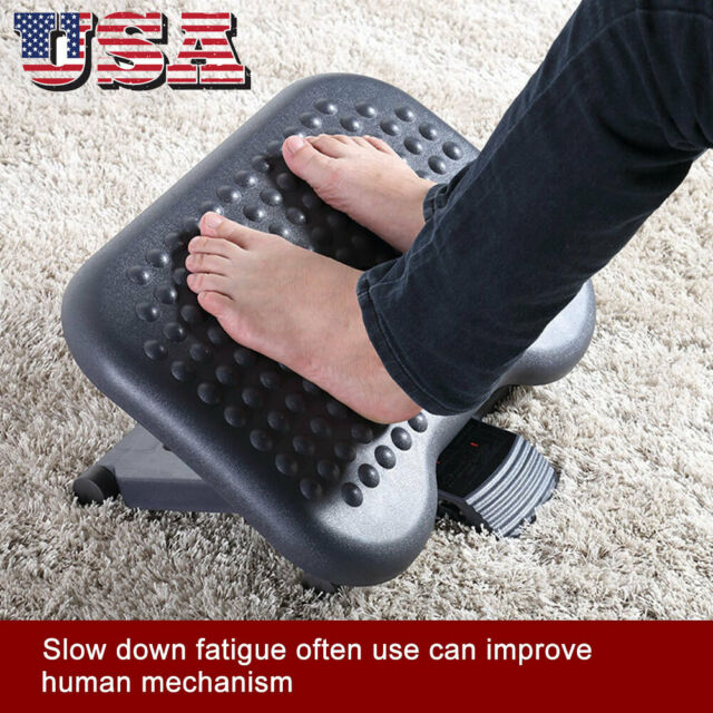 Admirable Adjustable Height Foot Rest Stool Under Desk Office Ergonomic Portable Comfort Pdpeps Interior Chair Design Pdpepsorg