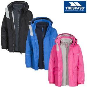 Enfants-Trespass-Prime-II-3-en-1-Veste-Impermeable-Polaire-Garcon-Fille