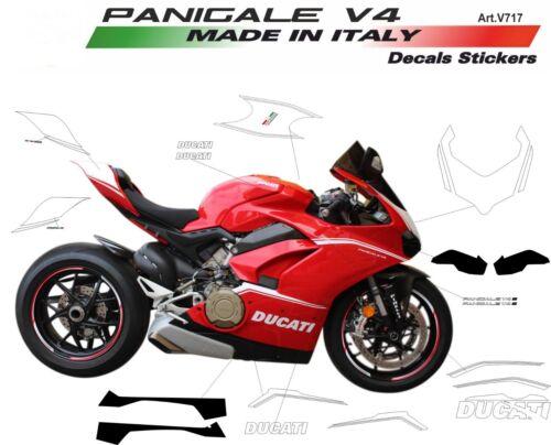 Kit adesivi personalizzati per carene Ducati Panigale V4