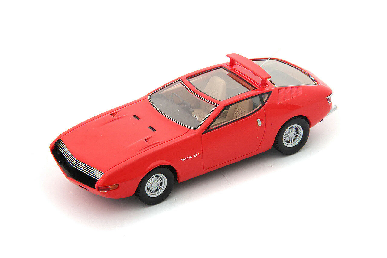 1 43 AutoCult Model Toyota EX1 Concept Red 1969 Tokyo Motor Show ATC60010