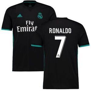 adidas Real Madrid 2017 - 2018 C. Ronaldo   7 CR7 Away Soccer Jersey ... 88f716168