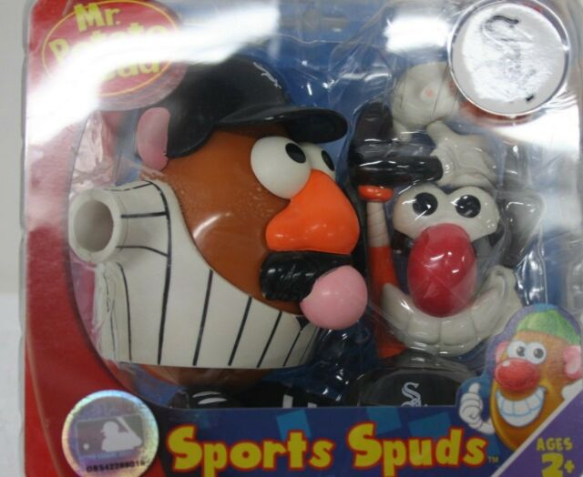 Mr Potato Head Chicago White Sox Baseball Sports Spuds MLB Series NIB