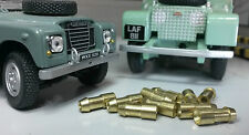 Land Rover Series 1 2 2a 2b 3 Lucas Brass 4.7mm Bullet Loom 1.6mm Wire Connector