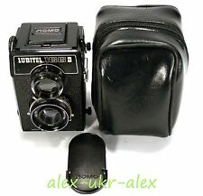Russian Lubitel-166B LOMO Lomography 6x6 cm film camera. Exc+++.№