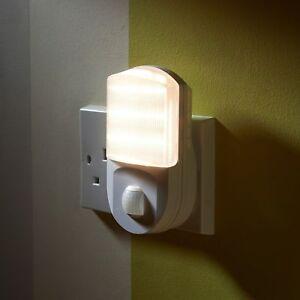 Led Nachtlicht Mit Bewegungsmelder Fur Steckdose Lampe Notlicht 9