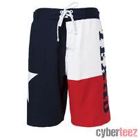 Texas Flag Usa Patriotic Mens Board Shorts Swim Trunks S-2xl