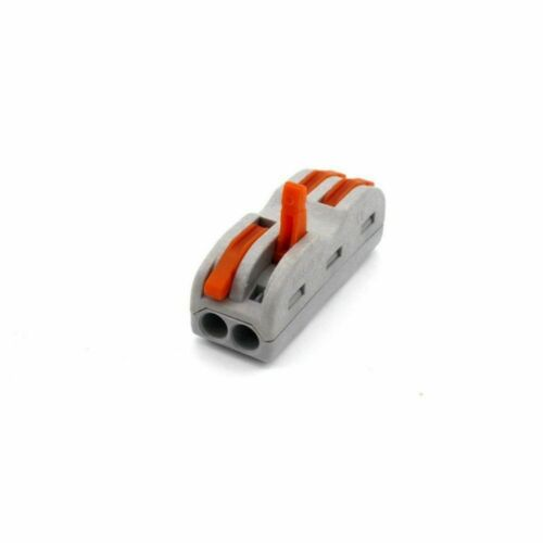 10cs 4 6 way Push in out Terminal Block Fast Wire Cable LED Light Connector