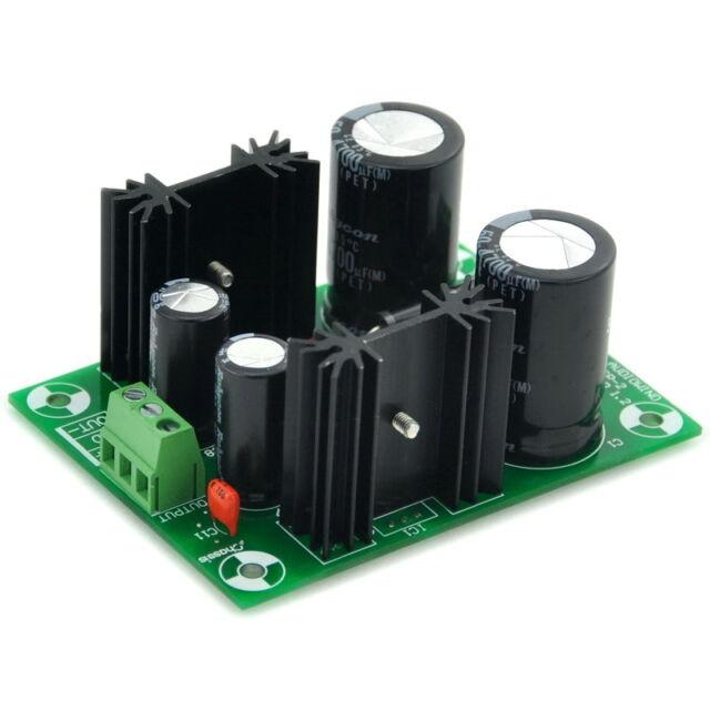 +/-18V Positive/Negative Voltage Regulator Module Board, Based on 7818 7918