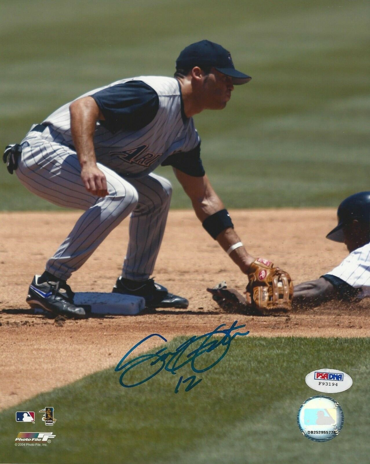 Scott Hairston Arizona Diamondbacks signed 8x10 photo PSA/DNA #F93194