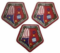 Firefly Serenity Uniform Wash Sleeve Embroidered Patch Set Of 3
