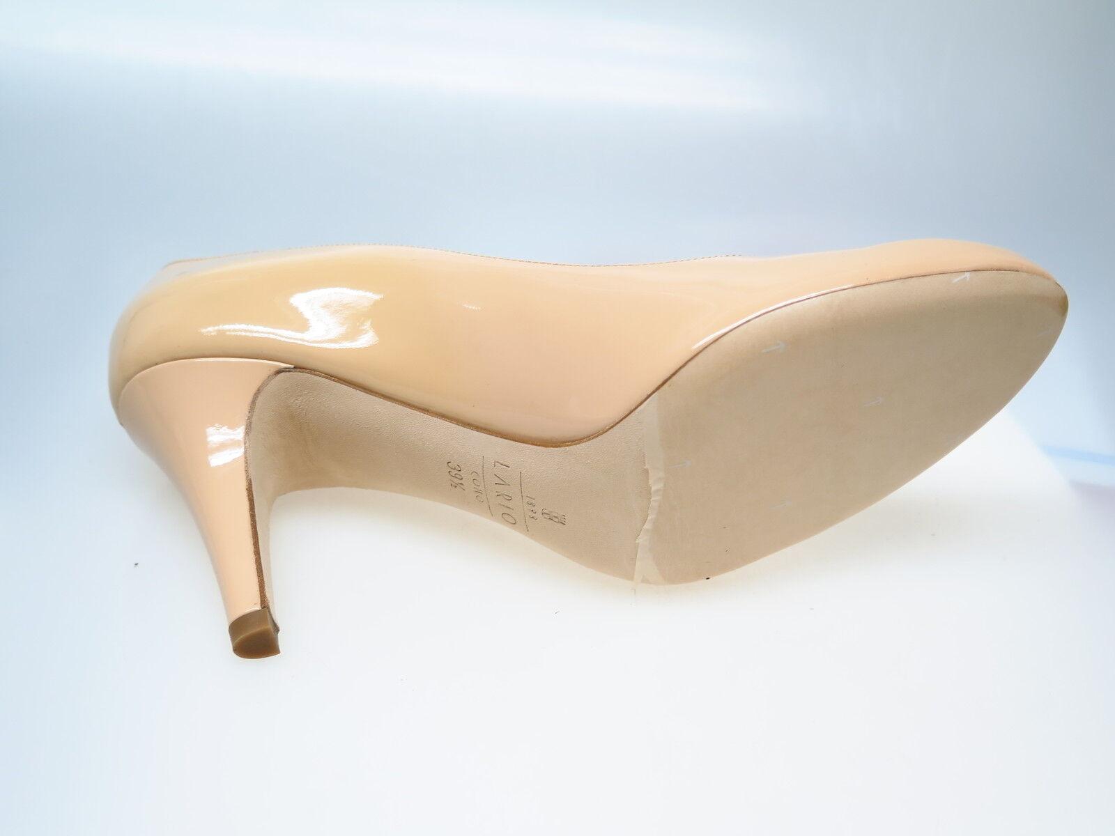 Lario Como 1898 Scarpe VERNICE da Donna Designer lr1056 VERNICE Scarpe NUDE balmi tg. 37 NUOVO f9ca8b