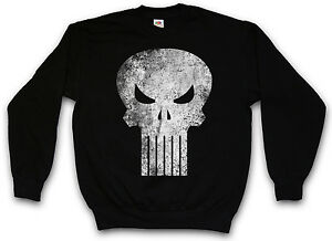 Vigilante-skull-sweatshirt-the-Frank-Movie-punisher-Castle-Logo-sweat-pull