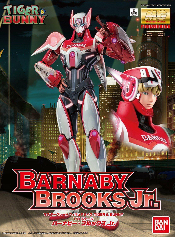 Bandai Hobby Barnaby Brooks Junior Tiger and Bunny 1 8-MG Figurerise