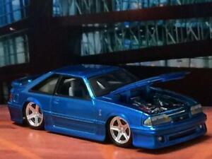Slammed-1993-93-Ford-Mustang-SVT-Cobra-1-64-Scale-Limited-Edition-E20