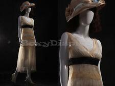 Female Fiberglass Glossy White Mannequin Egg Head Lisa9eg Mz
