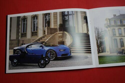 Bugatti Geneva 2019 Press Prospectus Baby II Brochure New Chiron