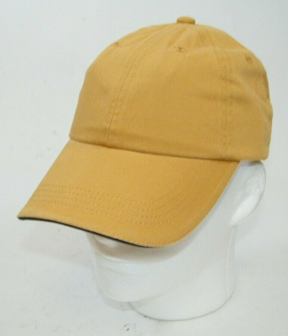 (6) PORT AUTHORITY DANDELION WITH CHARCOAL STRIPE CLOSURE C830 SANDWICH BILL CAP