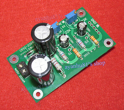 2-Way Electron Tube Amp Negative Grid Bias Power Supply Adjustable for EL34/300B